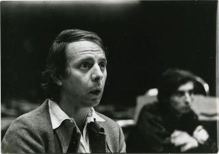 Original photograph of Karlheinz Stockhausen. Karlheinz Stockhausen, subject