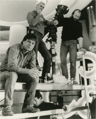 Brazil (Original photograph from the set of the 1985 film). Terry Gilliam, Charles McKeown Tom...