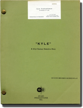 Kyle (Original screenplay for an unproduced film). Lewis Davidson, Richard L. Adams, screenwriters