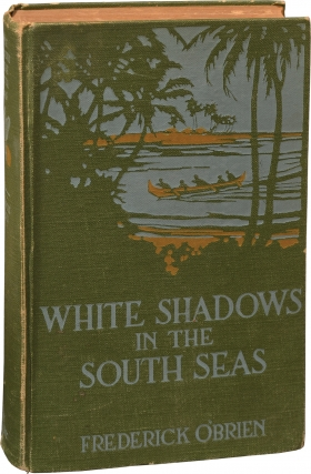 """Archive of material on """"White Shadows in the South Seas"""" [Southern Skies] from the estate of Monte Blue"""