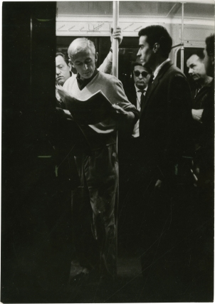 Pickpocket (Original photograph from the set of the set of the 1959 film). Robert Bresson, Marika...
