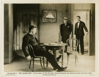 The Glass Key (Two original photographs from the 1935 film). Frank Tuttle, Dashiell Hammett,...