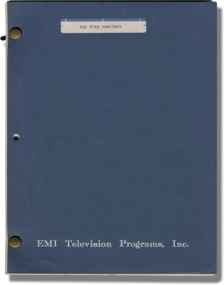 The 87th Precinct (Original teleplay script for an unproduced television film). Ed McBain, author...
