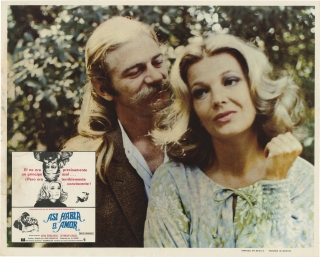 Minnie and Moskowitz [Asi Habla el Amor] (Collection of eight original film lobby cards from the...