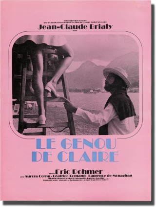 Claire's Knee [Le Genou de Claire] (Original pressbook for the 1970 film). Eric Rohmer, Aurora...