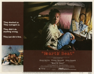 Heart Beat (Collection of 5 original film lobby cards for the 1980 film). Jack Kerouac, John...