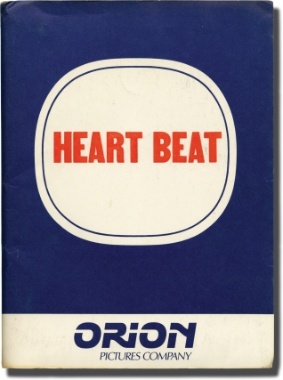Heart Beat (Original film press kit for the 1980 film). Jack Kerouac, John Byrum, Sissy Spacek...
