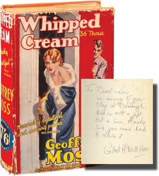 Whipped Cream (Signed First Edition). Geoffrey Moss