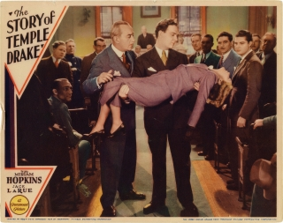 The Story of Temple Drake (Original lobby card from the 1933 film). William Faulkner, Miriam...
