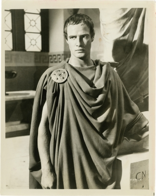 Julius Caesar (Collection of nine original photographs from the 1953 film). Joseph L. Mankiewicz,...