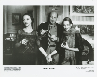 Henry and June (Collection of 9 original photographs from the 1990 film). Philip Kaufman, Anais...