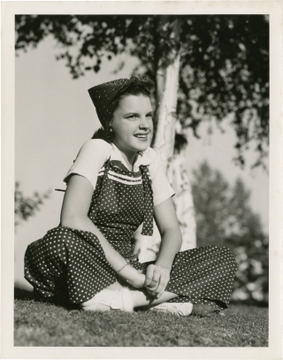 Original photograph of Judy Garland, circa 1937