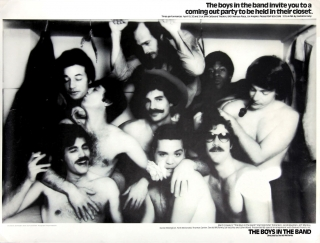 The Boys in the Band (Original poster for the 1969 play). Gerald McRaney, Mart Crowley, director,...