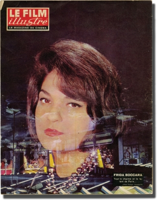 Le Film illustre: Le magazine du cinema (Vintage French film magazine for October 15, 1962)....