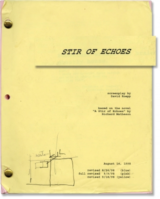 Stir of Echoes (Original screenplay for the 1999 film). David Koepp, Richard Matheson, Kevin...