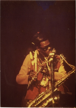 Archive of 14 jazz concert photographs, circa 1970s