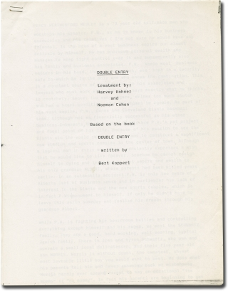 Double Entry (Original screenplay for an unproduced film). Harvey Kohner, Norman Cohen, Bert...