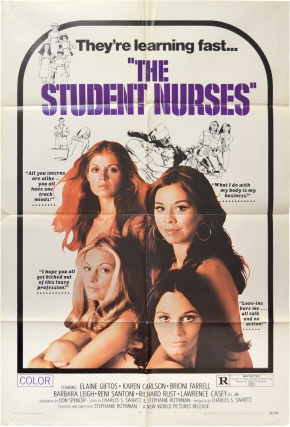 The Student Nurses (Original poster for the 1970 film). Stephanie Rothman, Don Spencer, Karen...