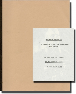 The Track of the Fox (Original treatment script for an unproduced television film). Erwin Rommel