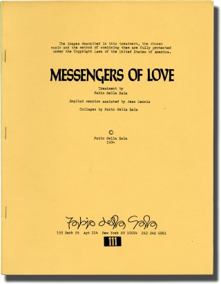 Messengers of Love (Original treatment script for an unproduced film). Jimi Hendrix, Fabio della...