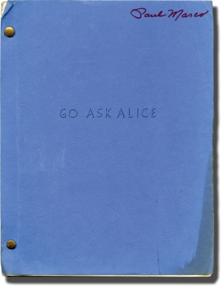 Go Ask Alice (Original screenplay for the 1973 television movie). John Korty, Ellen M. Violett,...