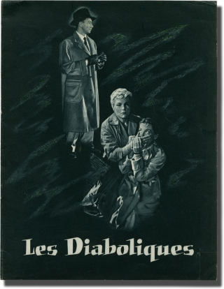 Les diaboliques [Diabolique] (Original French program for the 1955 film). H. G. Clouzot, Pierre...