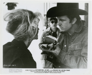 J.W. Coop (Collection of 17 original photographs from the 1971 film). Cliff Robertson, Bud Shrake...