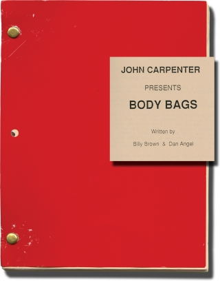 Body Bags (Original screenplay for the 1993 television film). John Carpenter, Tobe Hooper, Dan...