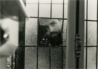La Femme Nikita [Nikita] (Original photograph of Luc Besson on the set of the 1990 film). Luc...