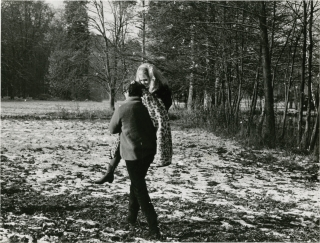 The Game is Over [La Curee] (Collection of 4 original photographs from the set of the 1966 film)....