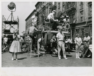 West Side Story (Original photograph of Robert Wise and Jerome Robbins on the set of the 1961...
