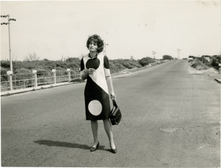 Original photograph of Silvana Mangano, circa 1965. Silvana Mangano, Georg Michall, subject, photographer.