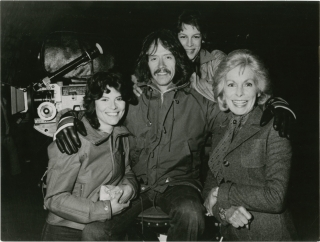 The Fog (Original photograph from the set of the 1980 film). John Carpenter, Debra Hill, Jamie...
