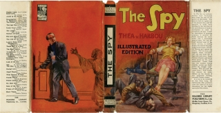 The Spy [Spies] (First UK Edition). Thea Von Harbou