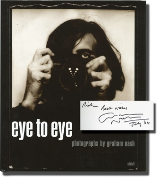 Eye to Eye (Signed First Edition). Graham Nash
