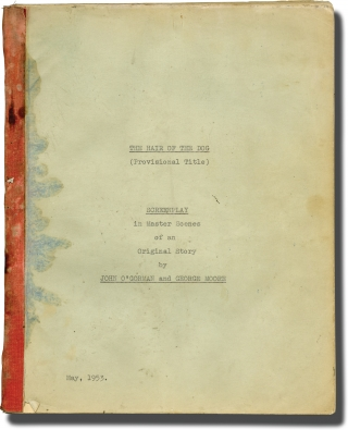 Hair of the Dog (Original screenplay for the 1962 film). Terry Bishop, Tony Hawes John O'Gorman,...