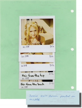 Face/Off [Face Off] (Original screenplay and large Polaroid photo archive for the 1997 film)....