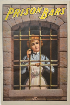Prison Bars (Original poster for the 1901 documentary film). Walter Barnsdale, producer director,...