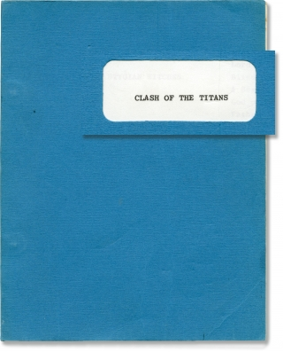 Clash of the Titans (Original screenplay for the 1981 film). Desmond Davis, Ray Harryhausen,...