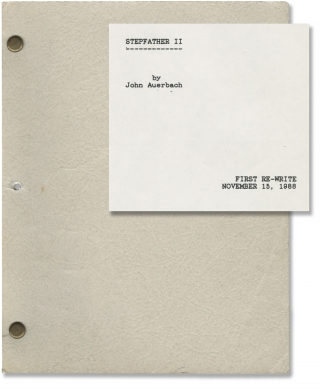 The Stepfather II (Original screenplay for the 1989 film). Jeff Burr, Carolyn Lefcourt John...