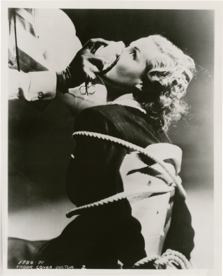 Collection of film still photographs of bound women from over 80 films