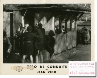 Zero for Conduct [Zero de conduite] (Collection of four photographs from the 1933 film). Jean...