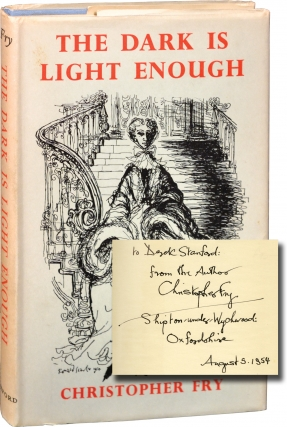 The Dark is Light Enough (Signed First Edition). Christopher Fry