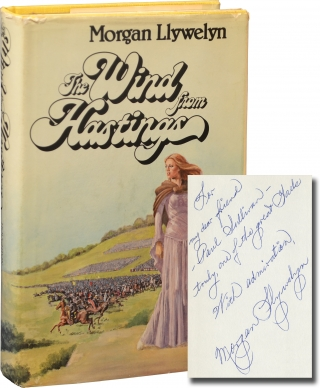 The Wind from Hastings (Signed First Edition with TLS). Morgan Llywelyn