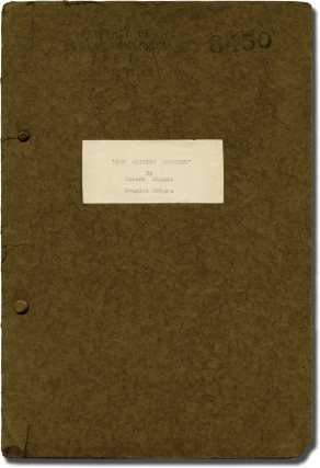 The Invisible Ray [The Shining Spectre] (Original screenplay for the 1936 film). Lambert Hillyer,...