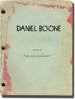 Daniel Boone: The Gun Runners, Episode 1 (Original screenplay for an unproduced television episode). Robert Angus, Kitty Buhler Jack Laird, screenwriter, characters.