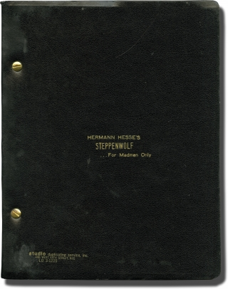 Steppenwolf [Hermann Hesse's Steppenwolf...For Madmen Only] (Original screenplay for the 1974...