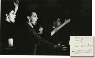 Phase 2 (Original photograph from the Off-Broadway show, circa 1962). Morton Shapiro, Bill Heyer...