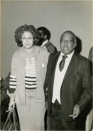 Original photograph of Count Basie, circa 1970s. Count Basie, subject.