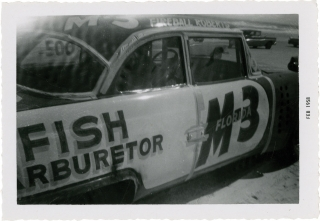 Twenty-four vernacular photographs from the final NASCAR race on Daytona Beach, 1958. Daytona...
